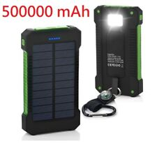 500000mAh Dual USB Portable Solar Battery Charger Solar Power Bank For Phone GR