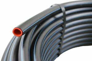 """25 Meter PE Rohr HD 25 mm (3/4"""") - PN12,5 - TRINKWASSER,DVGW"""