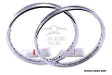 Front/rear wheel rim + spokes honda C50 C65 C70 C90 C100 C102 C105 CM90 CM91