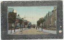 "WILTSHIRE - SWINDON, VICTORIA ROAD ""Crystoleum""  Postcard    (Faults)"