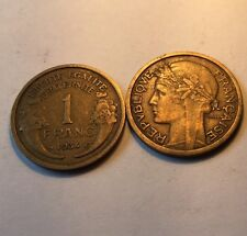 1 Franc Morlon Bronze-alu 1934