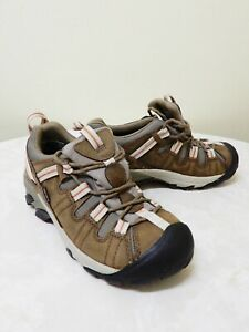 Keen Targhee II women's brown walking/hiking athletic shoes SZ US/AU 8 - 25 cm