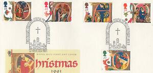 (87218) GB Used Christmas Jerusalem Skellingthorpe Lincoln 1991