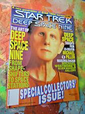 STAR TREK DEEP SPACE NINE MAGAZINE~  VOL.3, 1993~RENE AUBERJONOIS~ODO