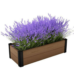 RAISED BED - MAPLE COLOURED - Flower Bed - Low Maintenance