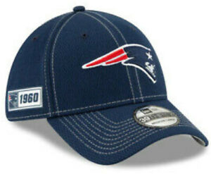 NEW ENGLAND PATRIOTS NEW ERA HAT 1960 ONFIELD HEADWEAR 39THIRTY NFL FITTED CAP