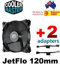 Cooler Master JetFlo 120mm POM Bearing 95CFM PWM or 1200/1600RPM Cooling Fan