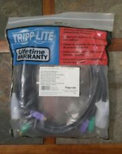 New Tripp-Lite P754-010 PS/2 Cable Kit for KVM Switches 10 feet