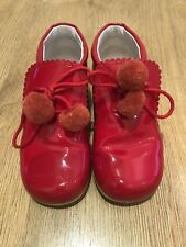 Girls Red Andanines Size 25