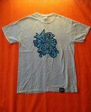 Alta enfoque Records UK Hip Hop Graffiti Blanco camiseta Tamaño M Ropa de calle