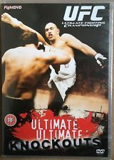 Ultimate Ultimate Knockouts DVD (18) PAL UFC Ultimate Fighting Championship