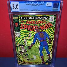 Amazing Spider-Man, The Vol. 1 Annual #5 - 1st Richard and Mary Parker - CGC 5.0