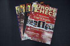 CHESS MAGAZINES Lot of 4 EUROPE ECHECS magazines Juin - Decembre 2010 Francais