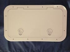 ACCESS HATCH WHITE 520 X 270 mm QUALITY ASA BOAT RIB CARAVAN MOTORHOME DIY