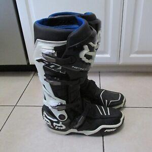 Fox Racing Instinct Motocross Boots Men's Size 10 Very Nice!