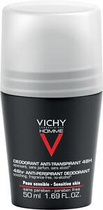 Vichy Homme 48hr Anti-Irritation Anti-Perspirant 50ml