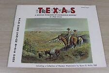 Texas Musical Romance of Panhandle History by Paul Green 1969 Souvenir Program