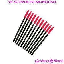 Extension Ciglia Semipermanente 50 Scovolini in Silicone Monouso professionale