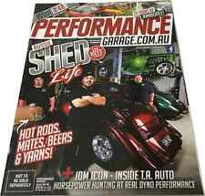PERFORMANCE GARAGE #48 Aussie Shed LIfe - Hot Rods, Mates, Beers,  Yarn + MORE
