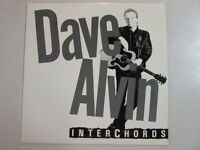 DAVE ALVIN INTERCHORDS 1987 PROMO ONLY LP MUSIC INTERVIEW BLASTERS ROMEOS ESCAPE