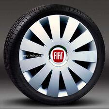 "Set 4 x Flare DEEP DISH commerciale 16/"" rifiniture ruota Hub Caps si adatta a FIAT Bravo"