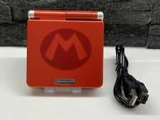 NINTENDO AGS-001 GAME BOY ADVANCE SP CONSOLE - MARIO EDITION - Free P&P!!