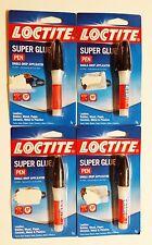 Henkel Loctite *4 PACK* Loctite Super Glue  3g Pens  49157 **FAST SHIPPING**