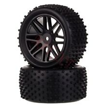 2x 1/10 HSP Off-road Buggy 06102 Rear Wheel Rim Tyre,Tires Insert Sponge 66040