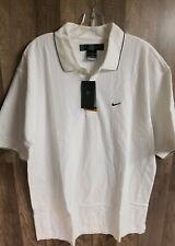 Mens Nike Golf Dri-fit Medium Shirt White