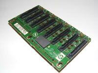 HP 449420-001 DL580 G5 SAS SATA 8 SLOT HARD DRIVE BACKPLANE BOARD CARD