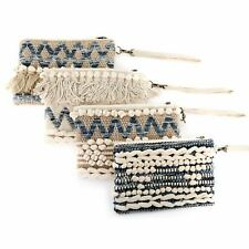 Women's Blue And White Clutch Bag Festival Handbag ~ Design Varies