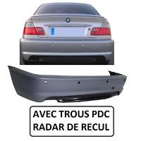 PARE CHOC ARRIERE  + SPOILER PACK M M2 BMW SERIE 3 E46 COUPE ET CABRIOLET