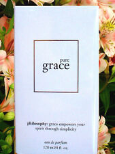 Philosophy PURE GRACE EAU DE PARFUM SPRAY FRAGRANCE 4 OZ. PERFUME SEALED IN BOX