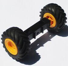 Playmobil Traktor Zubehör RÄDER Radachse aus 3073 4055 ERSATZTEIL Vorderrad Rad