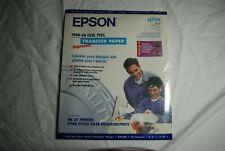 Epson Iron on Transfer Paper New