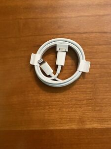 Genuine Apple USB-C to Lightning Cable 1m Authentic IPhone 12