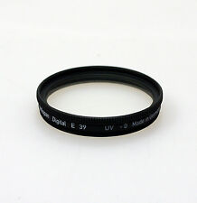Heliopan 39mm UV Protective Filter. Brand New Stock