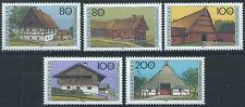 GERMANY 1996 SG2742-2746 Humanitarian Relief Funds. Farmhouses (2nd ser Mint MNH