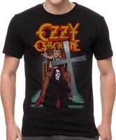 Ozzy Osbourne Speak of the Devil Crucifix Heavy Metal Music T Shirt OZZ10022