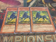 Yu-Gi-Oh Wroughtweiler DP1-EN007!! Common! X3!