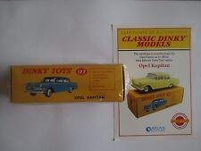 Opel Kapitan (177) CLASSIC DINKY MODEL by Atlas New Sealed Certificate
