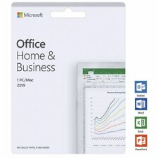 GENUINE RETAIL - Microsoft Office Home and Business 2019 (Apple MAC)