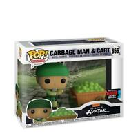 Funko Pop Avatar The Last Airbender Cabbage Man on Cart Shared Sticker NYCC 2019