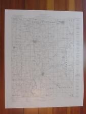 New Athens Illinois 1921 Original Vintage Usgs Topo Map