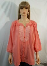 NWT NEW Women's CJ Breeze Size XL 14/16 Top Shirt Blouse Casual Work Clothes