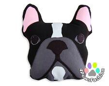 French Bulldog Throw Pillow/ Stuffed Plush/ Kids Art Toy/ Handmade Houseware
