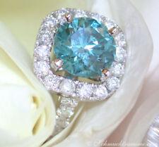 Ringe mit Diamanten für Damen in Blau