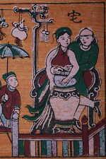 art asie estampe vietnamienne de Dông Hô