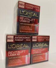 L'Oréal Paris RevitaLift Laser X3 Tagespflege,3 X  15 ml