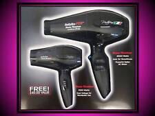BABYLISS PRO 2000 WATT PORTOFINO 6600 NANO TITANIUM HAIR BLOW DRYER FREE BAMBINO